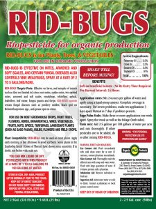 RID-BUGS Organic Insecticide (Pint)