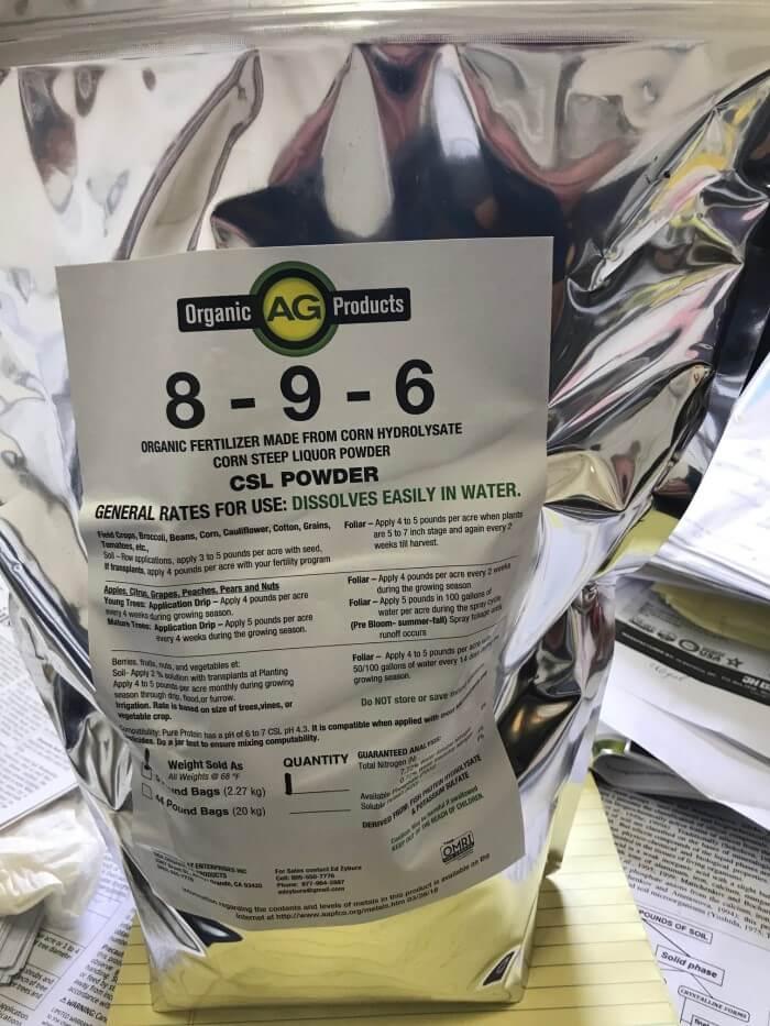 8-9-6 Organic Fertilizer